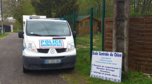 Formation capture de chiens police municipale